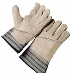 8.704-668.0 Industrial Split Cowhide Leather Work Glove