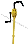 Chemical Resistant Drum Pump Crank Style 8.704-700.0