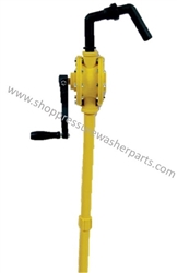 Chemical Resistant Drum Pump Crank Style 8.704-701.0