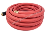 8.704-791.0 Heavy Duty Hot Water Red Garden Hose 100 Ft