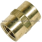 8.705-154.0 Brass Hex Coupling 3/4 FPT