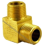 3/8 MPT x 1/8 MPT Brass Reducing Elbow 8.705-167.0