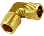 "8.705-169.0 Brass Elbow 1/4"" MPT"