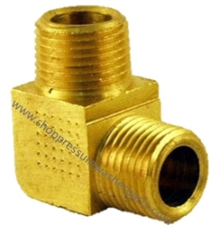 1/2 MPT x 3/8 MPT Brass Reducing Elbow 8.705-172.0