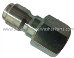 "1/4"" Stainless Steel Female Quick Coupler Plug"