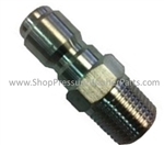 "1/4"" Stainless Steel M Quick Coupler Plug"
