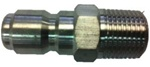 "3/8"" Stainless Steel M Quick Coupler Plug"