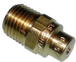 0 Degree Brass Detergent Nozzle 15.0 Orifice 8.708-203.0