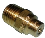 0 Degree Brass Pressure Washer Detergent Nozzle 30.0 Orifice 8.708-242.0