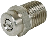 "Size 4.0 Pressure Washer Spray Tip Nozzle, 1/4"" MPT"