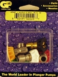 Pressure Washer Quick Connect Spray Tip Nozzles, Size 5.5,  includes red, yellow, green, white and black nozzles