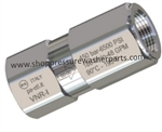 8.709-362.0 Stainless Steel Check Valve 5800 PSI