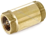 8.709-386.0 Spring Loaded Brass Check Valve 150 PSI