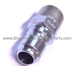 "1/4"" Male Hardened Stainless Steel Quick Coupler Plug 8.709-486.0"