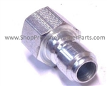 "Foster FST Series 1/4"" Female Hardened Stainless Steel Quick Coupling Plug 8.709-488.0"