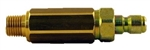"8.709-979.0 Brass High Pressure Inline Nozzle Filter, 1/4"" Quick Connect X 1/4"" MPT"