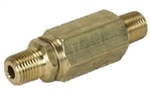 8.710-150.0 High Pressure Inline Nozzle Filter, 1/4 MPT Inlet and Outlet