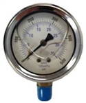 8.710-276.0 Stainless Steel Pressure Gauge 500 PSI