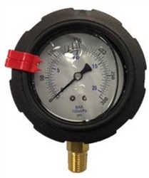 8.710-294.0 Bottom Mount ABS Plastic Pressure Gauge 300 PSI