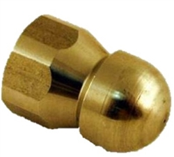 8.710-877.0 Sewer Pipe and Drain Cleaning Nozzle Size 6.0