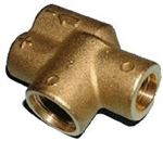 Hotsy Dual Lance Wand Replacement Brass Valve Body 8.711-316.0