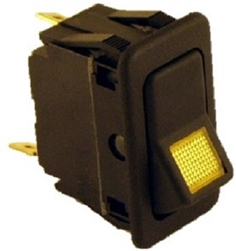 8.716-036.0 Lighted Rocker Switch 12 Volt, 15 Amp