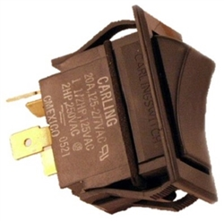 8.716-054.0 Rocker Switch 230 Volt, 20 Amps for Hotsy Burner Control Switch