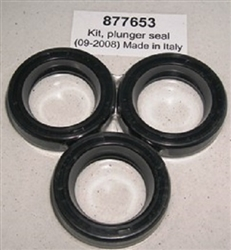 Hotsy Pressure Washer Pump Plunger Oil Seals 8.717-585.0, Replaces 877653