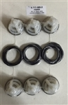Hotsy Pressure Washer Pump Check Valve Repair Kit 8.717-589.0, replaces Hotsy 753069 and 70-260010