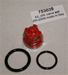 Hotsy Pressure Washer Pump Check Valve Kit, 8.717-590.0, replaces Hotsy Part 753039 and 70-260012