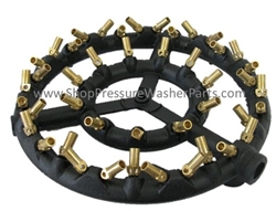 Pressure Washer X44 Burner Ring with #54 Nozzles 8.718-055.0
