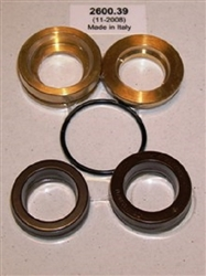 8.725-407.0 Hotsy Pump Complete U Seal Kit, Includes brass pressure and intermediate rings