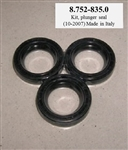 Pressure Washer Pump Plunger Oil Seal Kit 8.752-835.0 for Hotsy, Landa, Karcher and Legacy Pumps, Replaces 87528350