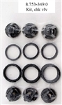 8.753-349.0 Hotsy, Landa, Karcher, and Legacy Pressure Washer Pump Valve Kit