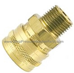 Foster 1/4 M Quick Coupler Socket Brass 8.756-030.0