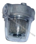 "8.757-652.0 Hotsy Clear Bowl Fuel Filter 1/4"" FPT"