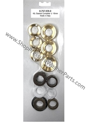 8.757-939.0 Hotsy Pump Complete Seal Repair Kit Includes Brass Seal Housings, also used in Landa, Karcher and Legacy pumps