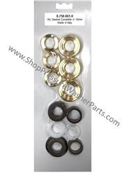 8.758-061.0 Hotsy Pump Complete Seal Kit Includes Brass Seal Housings, also used in Karcher, Landa, and Legacy pumps