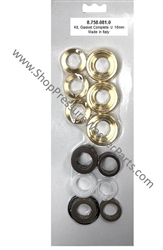 8.758-081.0 Pump Complete Seal Repair Kit for Hotsy, Landa, Karcher, Legacy Pumps Includes Brass Seal Housings