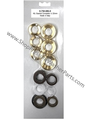 8.758-086.0 Pump Complete Seal Kit Includes Brass Seal Housings, used in Hotsy, Landa, Karcher and Legacy pumps