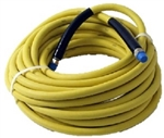 8.901-802.0 Yellow Food Grade Pressure Washer Hose, 75 Ft Animal Fat Resistant Hose