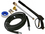 8.903-455.0 Karcher Pressure Washer Accessory Kit Includes Hose, Trigger Gun, Quick Coupler, Nozzle 5000 PSI