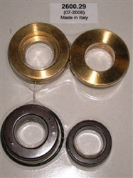 8.916-322.0 Pump Complete Seal Kit Includes Brass Seal Housings, used in Hotsy, Landa, Karcher and Legacy pumps