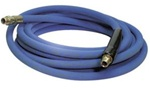 High Pressure Blue Car Wash Bay Non-Marking Hose Extension, 12 ft