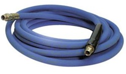 Blue Car Wash Bay Non Marking High Pressure Hose Extension, 13 ft