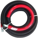 8.925-374.0 Hotsy 50 Ft Pressure Washer Hose, 6000 PSI, 275 Deg