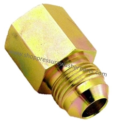 1/2 JIC x 3/8 FPT Pipe Nipple 9.802-037.0