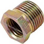 "9.802-046.0 High Pressure Steel Reducing Bushing 3/8"" MPT x 1/4"" FPT 6000 PSI"