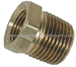 "9.802-135.0 Brass Reducing Bushing 1/2"" MPT x 1/4"" FPT"
