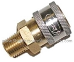 3/8 M Brass Quick Connect Socket 9.802-169.0